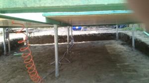 Lacháza pap-sziget talajcsavaros alapozás